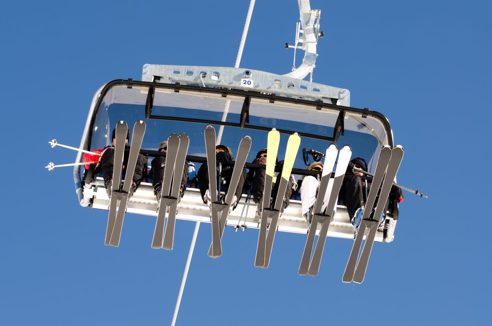 Wyciąg narciarski w Zawoi